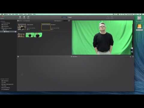 greenscreen basics imovie